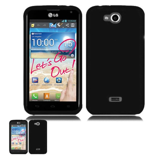 Wholesale LG Spirit MS 870 TPU (Black)