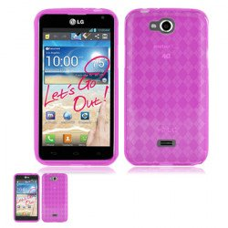 LG Spirit MS 870 TPU (Hot Pink)