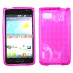 Wholesale LG Optimus F3 MS659 TPU Gel Case (Hot Pink)