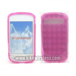 TPU Gel Case for Samsung Admire / R720 (Hotpink)