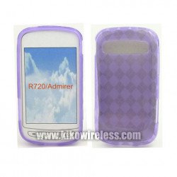 TPU Gel Case for Samsung Admire / R720 (Purple)