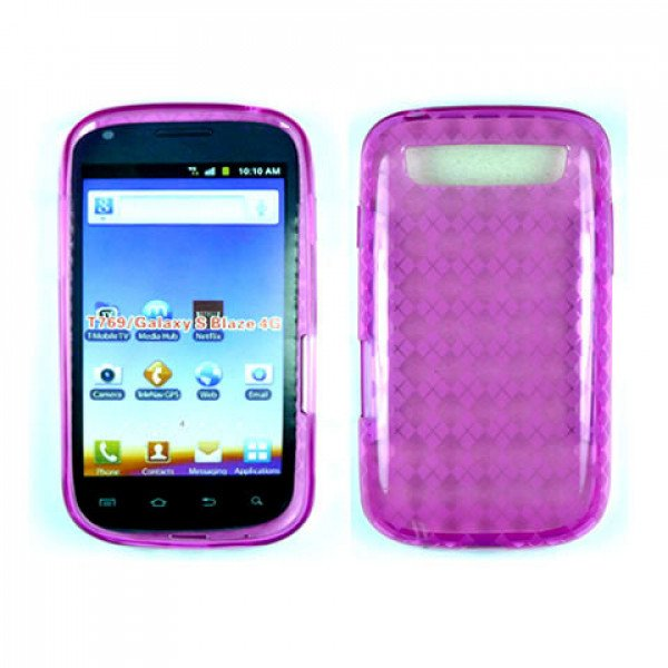 Wholesale TPU Gel Case for Samsung Galaxy S Blaze 4G / T769 (Pink)