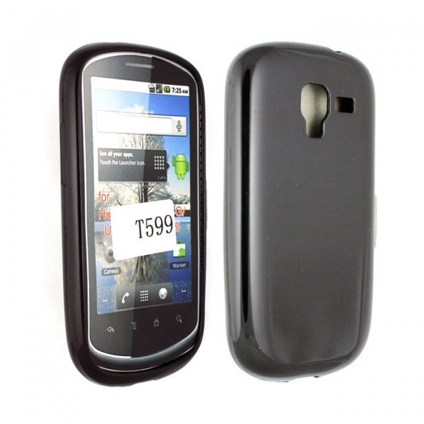 Wholesale Galaxy Exhibit T599 TPU Gel Case (Black)