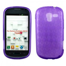 Galaxy Exhibit T599 TPU Gel Case (Purple)