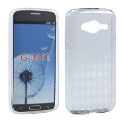 Samsung Galaxy Avant G386 TPU Gel Soft Case (Clear)