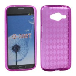 Samsung Galaxy Avant G386 TPU Gel Soft Case (Hot Pink)