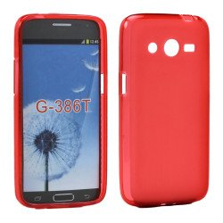 Samsung Galaxy Avant G386 TPU Gel Soft Case (Red)