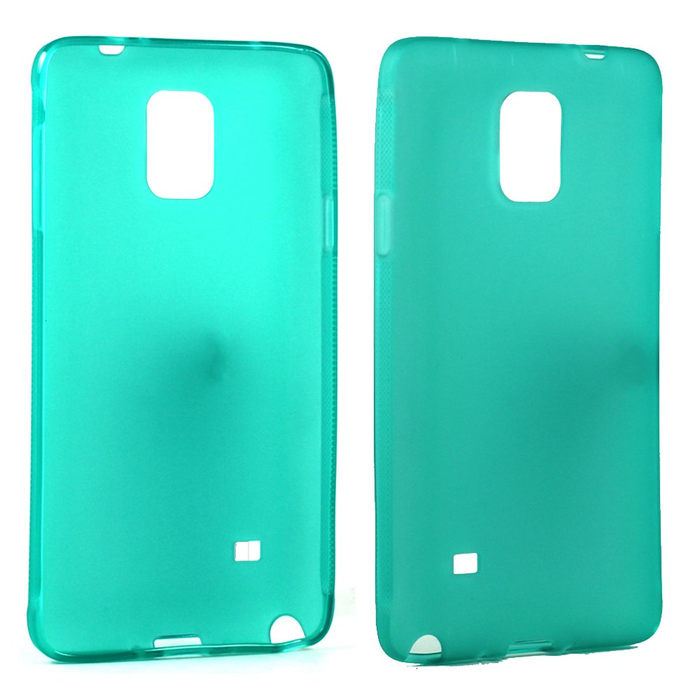 reputable site 582fb dbd6f Wholesale Samsung Galaxy Note 4 Soft TPU Gel Case (Green)