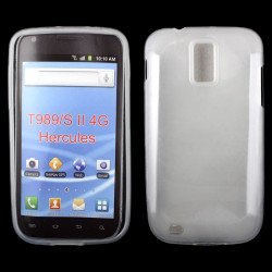 Samsung Galaxy S2 / T989 TPU Gel Case (Clear)