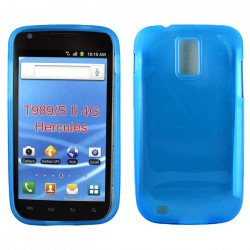 Samsung Galaxy S2 / T989 TPU Gel Case (Blue)