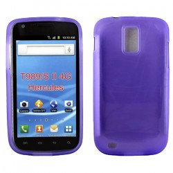 Samsung Galaxy S2 / T989 TPU Gel Case (Purple)