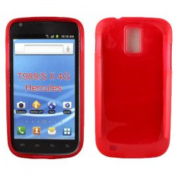 Samsung Galaxy S2 / T989 TPU Gel Case (Red)