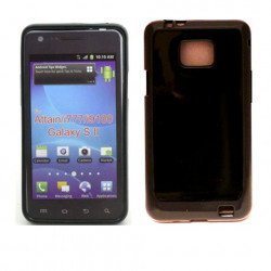 TPU Gel Case for Samsung Galaxy S2 / I777 (Black)