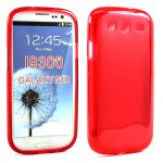 Wholesale Samsung Galaxy S3 i9300 TPU Gel Case (Red)