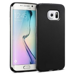 Samsung Galaxy S6 Edge TPU Gel Soft Case (Black)