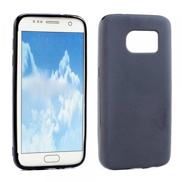 Wholesale Samsung Galaxy S7 Edge TPU Gel Soft Case (Black)