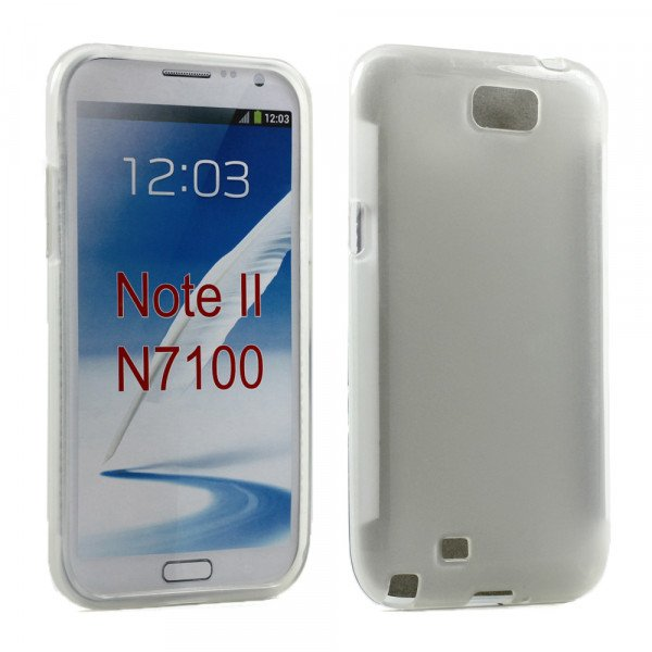 Wholesale Note 2 TPU Gel Case (Clear)