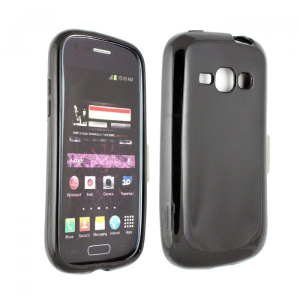 Wholesale Galaxy Prevail 2 M840 TPU Gel Case (Black)