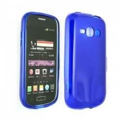 Galaxy Prevail 2 M840 TPU Gel Case (Blue)