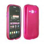 Wholesale Galaxy Prevail 2 M840 TPU Gel Case (Hot Pink)