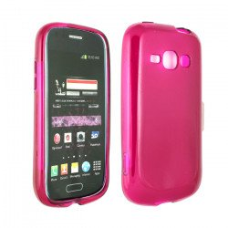 Galaxy Prevail 2 M840 TPU Gel Case (Hot Pink)