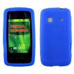 Wholesale Samsung Galaxy Prevail / M820 Silicone Skin Case (Blue)