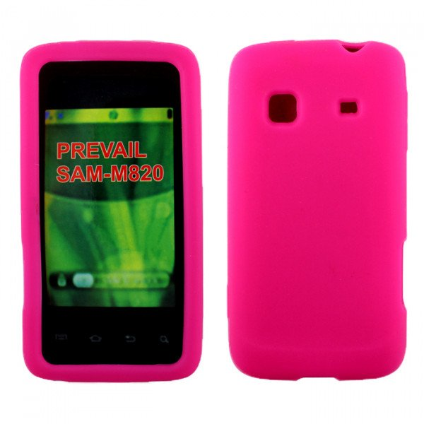 Wholesale Samsung Galaxy Prevail / M820 Silicone Skin Case (Pink)