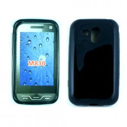 TPU Gel Case for samsung Galaxy Rush / M830 (Black)