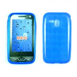 TPU Gel Case for samsung Galaxy Rush / M830 (Blue)
