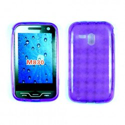 TPU Gel Case for samsung Galaxy Rush / M830 (Purple)