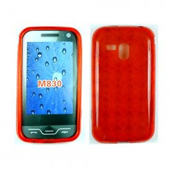 TPU Gel Case for samsung Galaxy Rush / M830 (Red)