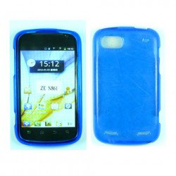 TPU Gel Case for ZTE Warp Sequent / N861 (Blue)