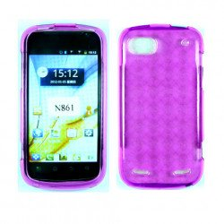 TPU Gel Case for ZTE Warp Sequent / N861 (Pink)