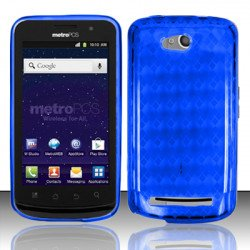 TPU Gel Case for Coolpad Quattro 4G / 5860E (Blue)