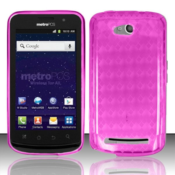 Wholesale TPU Gel Case for Coolpad Quattro 4G / 5860E (Hotpink)