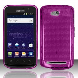 TPU Gel Case for Coolpad Quattro 4G / 5860E (Purple)
