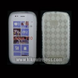 Gel Case  for Nokia Lumia 710(Clear)