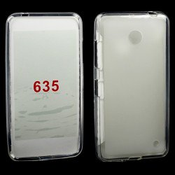 Nokia Lumia 635 TPU Gel Case (Clear)