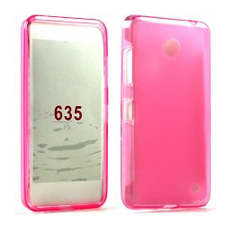 Nokia Lumia 635 TPU Gel Case (Pink)