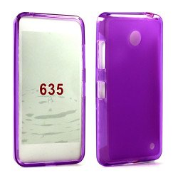 Nokia Lumia 635 TPU Gel Case (Purple)