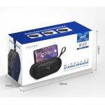 Wholesale Bass Stereo Portable Bluetooth Wireless Speaker HFU12 (Gray)