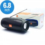 Wholesale Portable Charge Plus Bluetooth Wireless Speaker with FM Radio, Micro SD, Flash Drive Slot, Aux Port, Built in Microphone (Black)