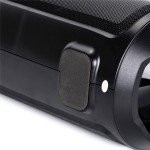 Wholesale LED Light Boombox Sub-woofer Portable Wireless Bluetooth Speaker with Carry Handle BM02 (Black)