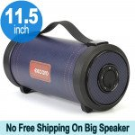 Wholesale Heavy Bass Sub-woofer Portable Wireless Bluetooth Speaker with Carry Handle S39 (Blue)