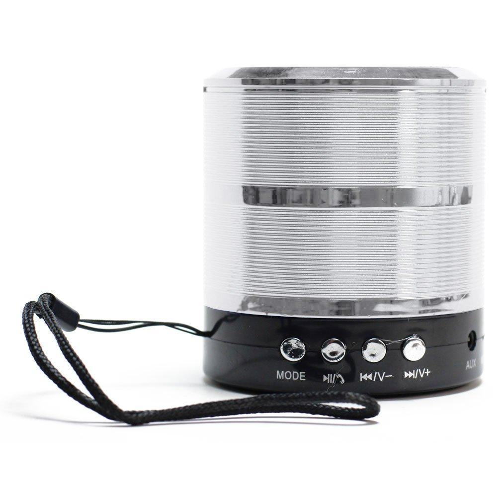 Mini Bluetooth Speaker Portable Wholesale Metallic Design Wireless