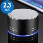 Universal Portable Mini LED Bluetooth Speaker A2Pro (Black)