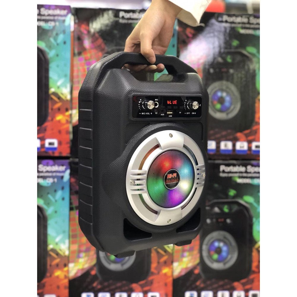 Wholesale Heavy Duty Jukebox LED Light Portable Bluetooth Speaker