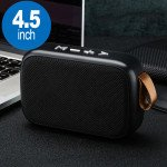 Table Pro Fabric Soft Material Wireless Portable Bluetooth Speaker G2 (Black)
