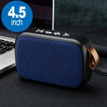 Table Pro Fabric Soft Material Wireless Portable Bluetooth Speaker G2 (Blue)
