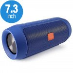 Wholesale Loud Sound Portable Bluetooth Speaker with Power Bank Feature H3-B (Blue)